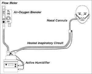 Σύστημα Υψηλής Ροής Οξυγόνου με ενσωματωμένο υγραντήρα-LM High Flow Therapy